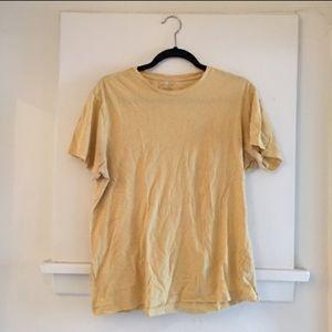Men's Banana Republic Yellow Heather T Shirt